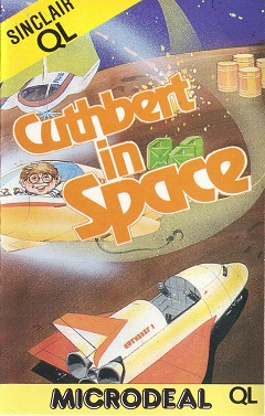 Cuthbert in Space for Sinclair QL