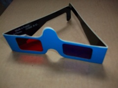 3D Glasses supplied with QL Wanderer